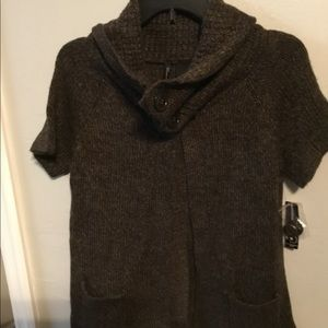 New Directions cowl neck sweater, NWT. PM